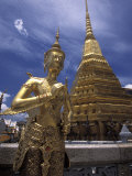 The Grounds of the Grand Palace, Bangkok, Thailand Photographic Print by Richard Nowitz