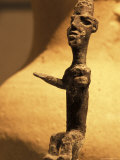 Statue of Canaanite Fertility Goddess Found in a Grave Photographic Print by Richard Nowitz