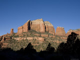 Scenic View of Rock Formations Sedona, Arizona Photographic Print by John Burcham