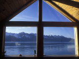 Sunrise over Resurrection Bay from Salt Water Lodge, Alaska Fotografisk tryk af Rich Reid