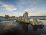 Sunset on Mono Lake and Tufa Towers, California Photographic Print by Bill Hatcher