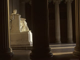 Sunlight Illuminates Lincoln's Statue in the Lincoln Memorial, Washington, D.C. Photographic Print by Kenneth Garrett