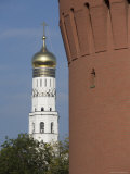 The Bell Tower of Ivan the Great, The Kremlin, Moscow, Russia Photographic Print by John Burcham