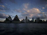 Sydney's Famous Opera House Rests on the Shore of Sydney Habour, Australia Photographic Print by Jason Edwards