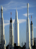 The Rocket Garden in Cape Kennedy, Florida Photographic Print by Richard Nowitz