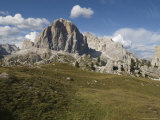 South Face of the Tofana in the Italian Dolomites, Italy Photographic Print by Bill Hatcher