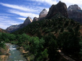The Virgin River Flows Through Zion National Park, Utah Photographic Print by Stacy Gold