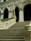 Stairway of the Giants Inside the Courtyard of the Doges Palace, Venice, Italy Photographic Print by Todd Gipstein