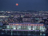 The Kennedy Center Lit Up at Night, Washington, D.C. Photographic Print by Kenneth Garrett