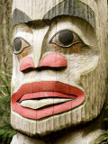 Totem Pole Detail Photographic Print by Tim Laman