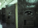 Steel Cell Block Doors at the Infamous Historical Pentridge Prison, Australia Photographic Print by Jason Edwards
