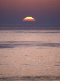 Sun Setting over the Pacific Ocean, California Photographic Print by Rich Reid
