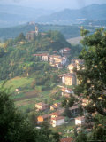 Small Hill Town in the Eastern Piemonte, Italy Photographic Print by Michael S. Lewis