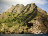 Scenic View of Hiva Oa Island, French Polynesia Photographic Print by Tim Laman