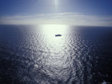 The Seismic Vessel Geco Beta Searches the Vast Ocean for Oil and Gas, Bass Strait, Australia Photographic Print by Jason Edwards