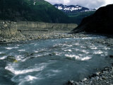 Swift River Water Flows Toward the Gulf of Alaska Photographic Print by Stacy Gold