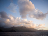 Storm Clouds Rolling in over Anaho Bay, French Polynesia Photographic Print by Tim Laman