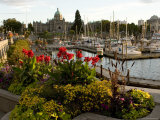 Scenic View of the City of Victoria Photographic Print by Tim Laman