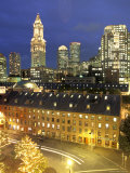 Skyline of Central Business District in Boston, Massachusetts Photographic Print by Richard Nowitz