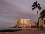 Sunrise at Waikiki Beach, Hawaii Photographic Print by Stacy Gold