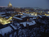 Vatican City in the Snow Photographic Print by James L. Stanfield