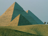 The Great Pyramids at Giza, Egypt Photographic Print by James L. Stanfield
