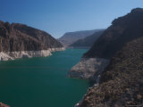 The Waters of Lake Mead Are Contained by the Hoover Dam Photographic Print by Heather Perry