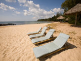 White Sand and Quiet Ong Lang Beach Are the Draw at Mango Bay Resort Photographic Print by Michael S. Lewis