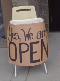 Yes, We Are Open, Arizona Photographic Print by Dawn Kish