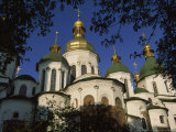 Santa Sophia Church Exterior, Kiev, Ukraine Photographic Print by James L. Stanfield
