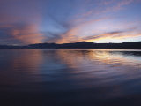 Sunset over Lake Tahoe, California Photographic Print by James Forte