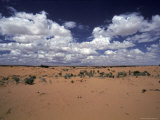 White Clouds Race in over the Red Sands of the Strezlecki Desert, Australia Photographic Print by Jason Edwards
