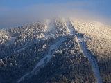 Ski Lifts at a Resort Photographic Print by Tim Laman