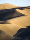 Sand Dunes at Sunset, Colorado Photographic Print by Michael S. Lewis