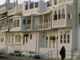 Some of Matrah's Old Townhouses, with Fancy Balconies Stampa fotografica di James L. Stanfield