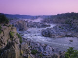Scenic Overlook of Great Falls Photographic Print by Kenneth Garrett