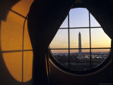 Washington Monument Seen Through a Hotel Room Window, Washington, D.C. Photographic Print by Kenneth Garrett