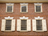 The Exterior of Franklin Court, The Home of Benjamin Franklin Photographic Print by Tim Laman