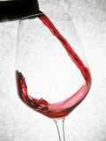 A Glass of Red Wine Photographic Print by Steven Morris