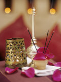Table Decoration with Incense Sticks Photographic Print by Jean Cazals