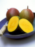 Mangos, One Cut Open Photographic Print by William Lingwood