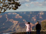 Winter Time on the South Rim of the Grand Canyon at Grandview Point Photographic Print by Michael S. Lewis