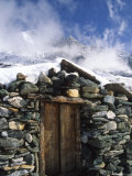 Yak Herder Shelter in the High Mountains of China Photographic Print by Kate Thompson