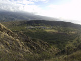 Volcanic Crater Named Diamond Head, Oahu Island, Hawaii Photographic Print by Stacy Gold
