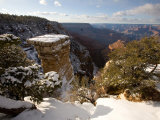 Winter Time on the South Rim of the Grand Canyon from Grandview Point Photographic Print by Michael S. Lewis