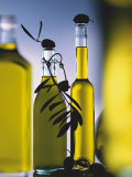 Olive Oil in Bottles Photographic Print by Luzia Ellert