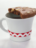 Chocolate Hazelnut Cookie on a Cup Photographic Print by Alena Hrbkova