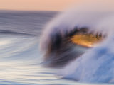Waves Breaking Before Sunrise at Emma Wood State Beach, Ventura, California Photographic Print by Rich Reid