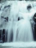 Waterfall in Malaysia's Sarawak Park Photographic Print by Mattias Klum