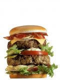 Giant Cheeseburger Photographic Print